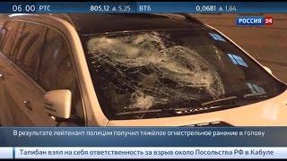 В северной столице тяжело ранен полицейский