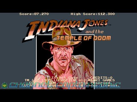 Indiana Jones And The Temple Of Doom Arcade Run