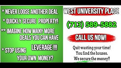 Bridge Loan West University Place Texas (713) 589-5882 Residential Bridge Loans