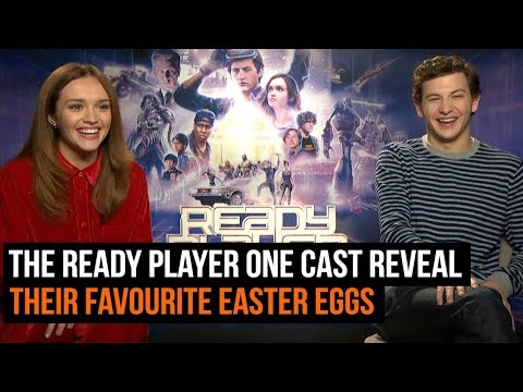 The Ready Player One cast reveal their favourite  Easter eggs from the movie