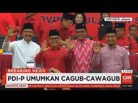 Breaking News! Megawati Umumkan Calon Gubernur Jawa Timur & Sulawesi Selatan dari PDI Perjuangan