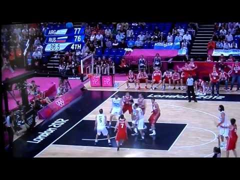 Олимпиада 2012 баскетбол АргентинаРоссия))