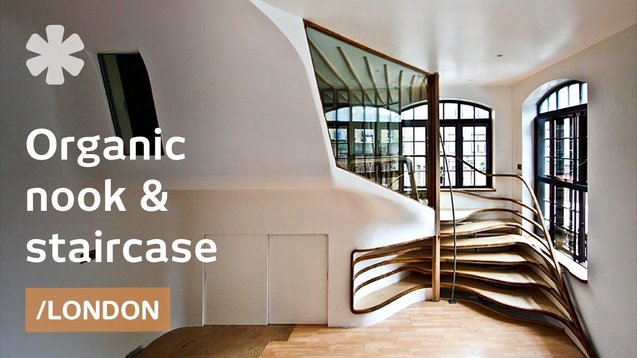 Preisgekrönte Design-Treppe aus Holz, die fast lebendig aussieht