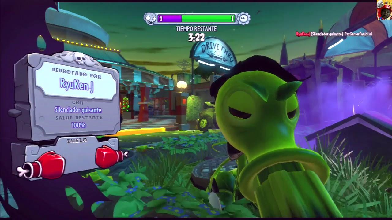 Plants Vs Zombies Ps3 Garden Warfare Play Part 003