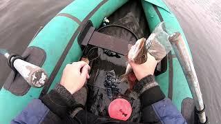 рыбалка на щуку щука в ноябре на живца вы должны это увидеть до первого льда часть1