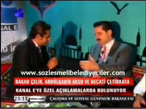 Sözleşmeli Belediye Çalışanları Kadroları Ne Zaman Alacaklar-Kanal-E-Faruk ÇELİK-08.08.2012
