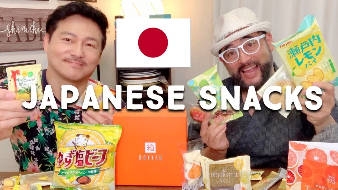 Japanese Snacks Perfect for Summer |  BOKKSU Subscription Service