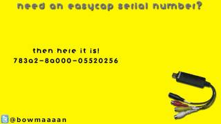 Easycap Serial Number - Ulead Video Studio