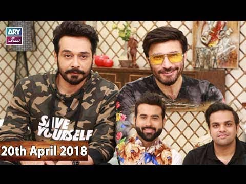 Salam Zindagi With Faysal Qureshi  - 20th April 2018 - Ary Zindagi