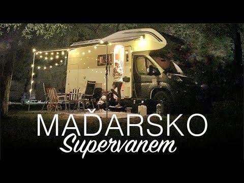MAĎARSKO - KEMPOVÁNÍ Supervanem