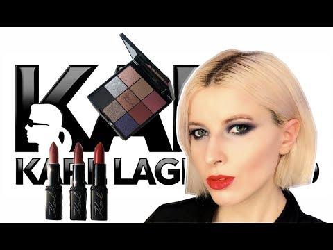 L'oreal X Karl Lagerfeld | помады | палетка | свотчи, макияж и первое впечатление |