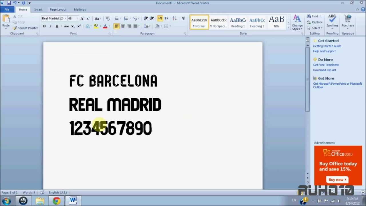 download microsoft word styles