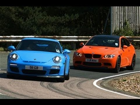 BMW M3 GTS vs Porsche 911 GT3 video review feature - YouTube