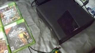 [VENDO] Xbox 360 Slim Com 250gb, Bloqueado, 41 Jogos, Em Otimo Estado - R$860 a vista