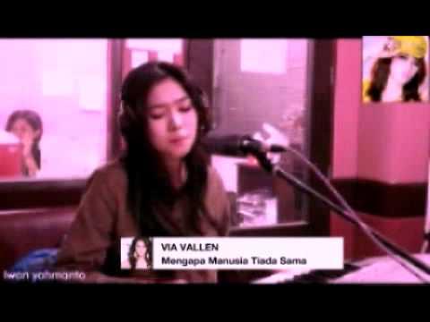 VIA VALLEN ♥ Mengapa Manusia Tiada Sama ( Audio New Pallapa )