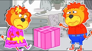 Lion Family Official Channel | Birthday Party: Wonder Ball with Candies | Cartoon for Kids