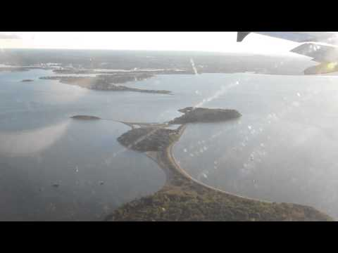 ATERRIZANDO EM BOSTON LOGAN INTERNATIONAL AIRPORT