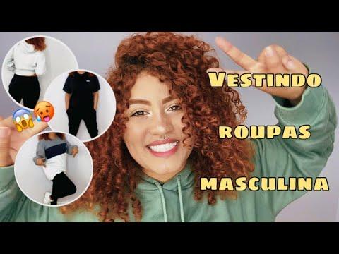 VESTINDO ROUPAS MASCULINAS/vesti