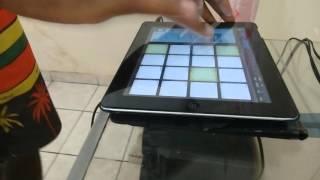 dj bokao mpc aquecimento das antigas ao vivo ipad beatmaker