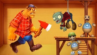 MAD JACK vs ZOMBIE Vs Buddy Soldie | Kick The Buddy