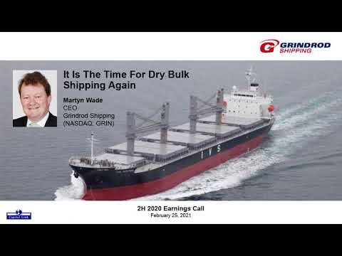It Is The Time For Dry Bulk Shipping Again - Martyn Wade, CEO, Grindrod Shipping - H2 2020 Earnings