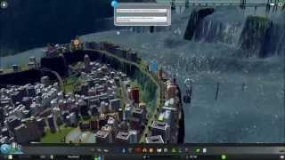 Cities Skyline - Tsunami - Massive Dam -