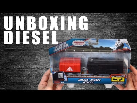 Unboxing Diesel: Thomas and Friends Characters