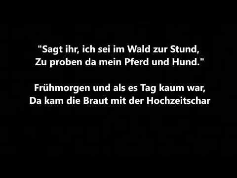 Erlkönigs Tochter - Johann Gottfried Herder - Ballade - Gedicht - Lesung mit Text - Hörbuch deutsch