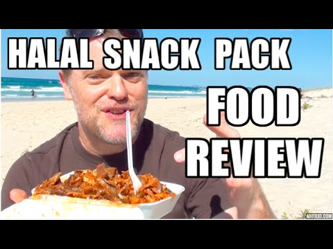 HALAL SNACK PACK FOOD REVIEW - Greg's Kitchen