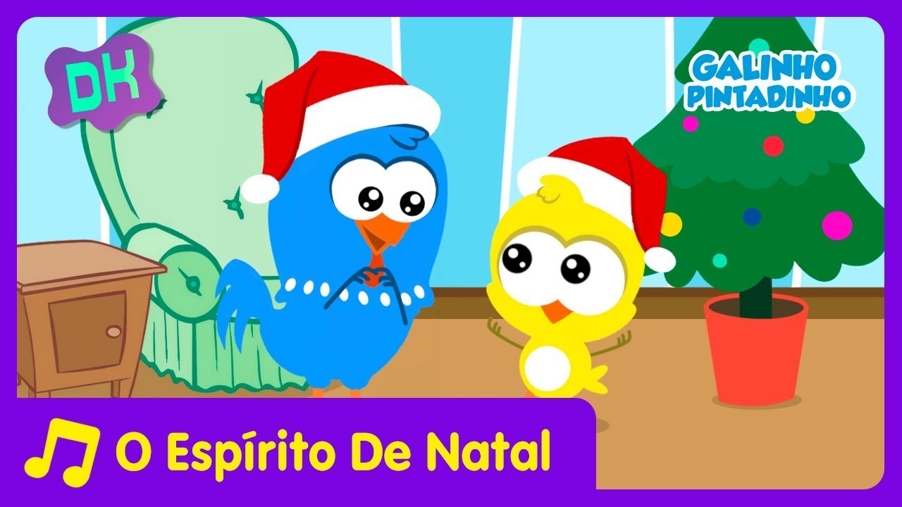 Galinho Corococo Espirito De Natal Video Infantil Youtube