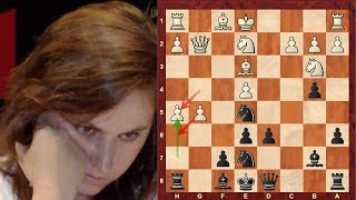 Judit Polgar Immortal! vs Shirov - Sicilian Defense: Paulsen - Brilliancy! (Chessworld.net)