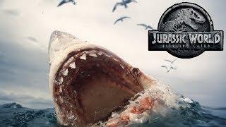 TODO sobre el Megalodon en Jurassic World 2 y su polémica escena