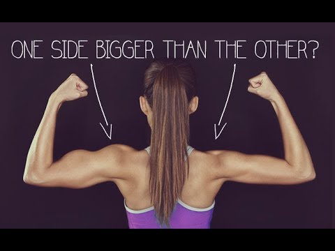 One Arm or Thigh Bigger Than The Other? (FIXING MUSCLE IMBALANCES ...