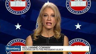 Conway: Trump Effect Already Seen in U.S. Economy