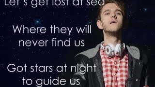 Repeat youtube video Lost At Sea - Zedd feat. Ryan Tedder (Lyric Video)
