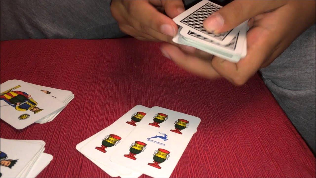 Gioco di logica con le carte napoletane youtube for Due di bastoni carte napoletane