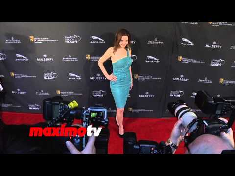 Helene Cardona 2014 BAFTA Los Angeles Awards Season Tea  Arrivals