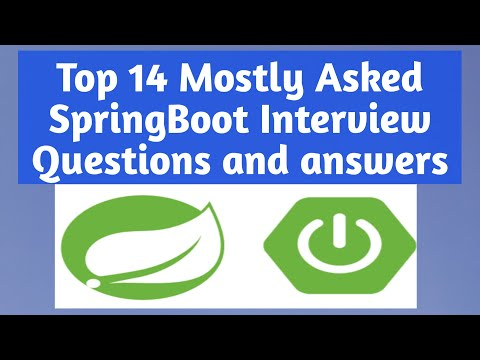 Top 15 Mostly Asked SpringBoot Interview Questions and answers