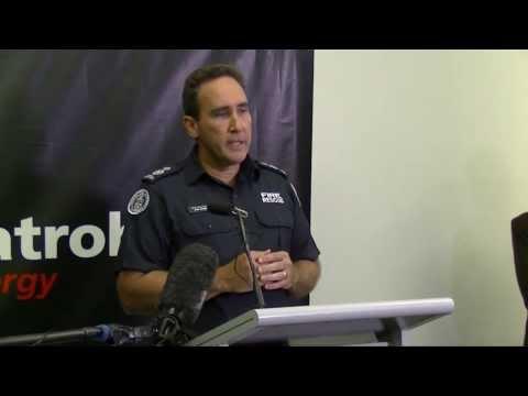 Incident Controller John Haynes, Morwell 27/2/14