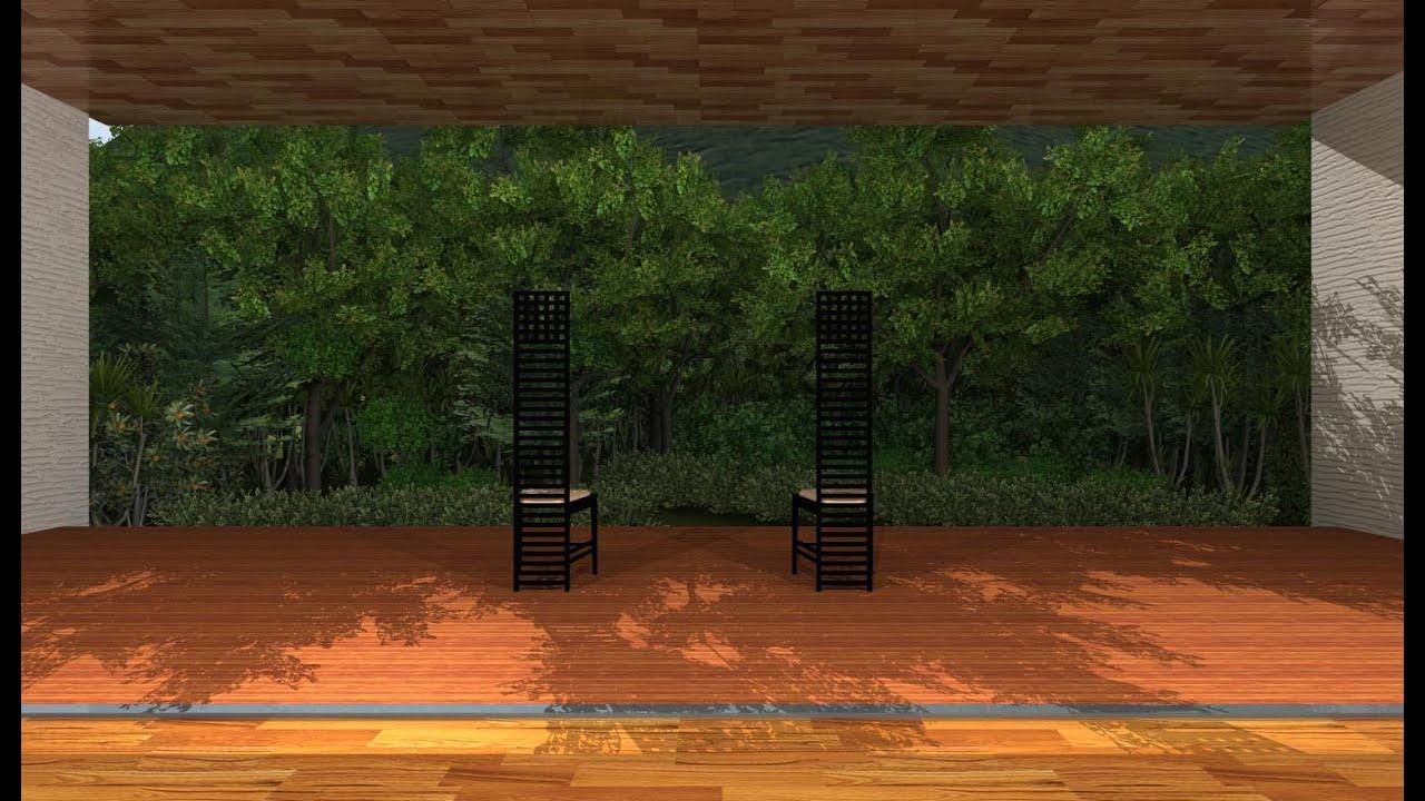 3DArchiDesigner 作図編 #18 モデリングPART3 気になった事3。 室内に照明を設置する。