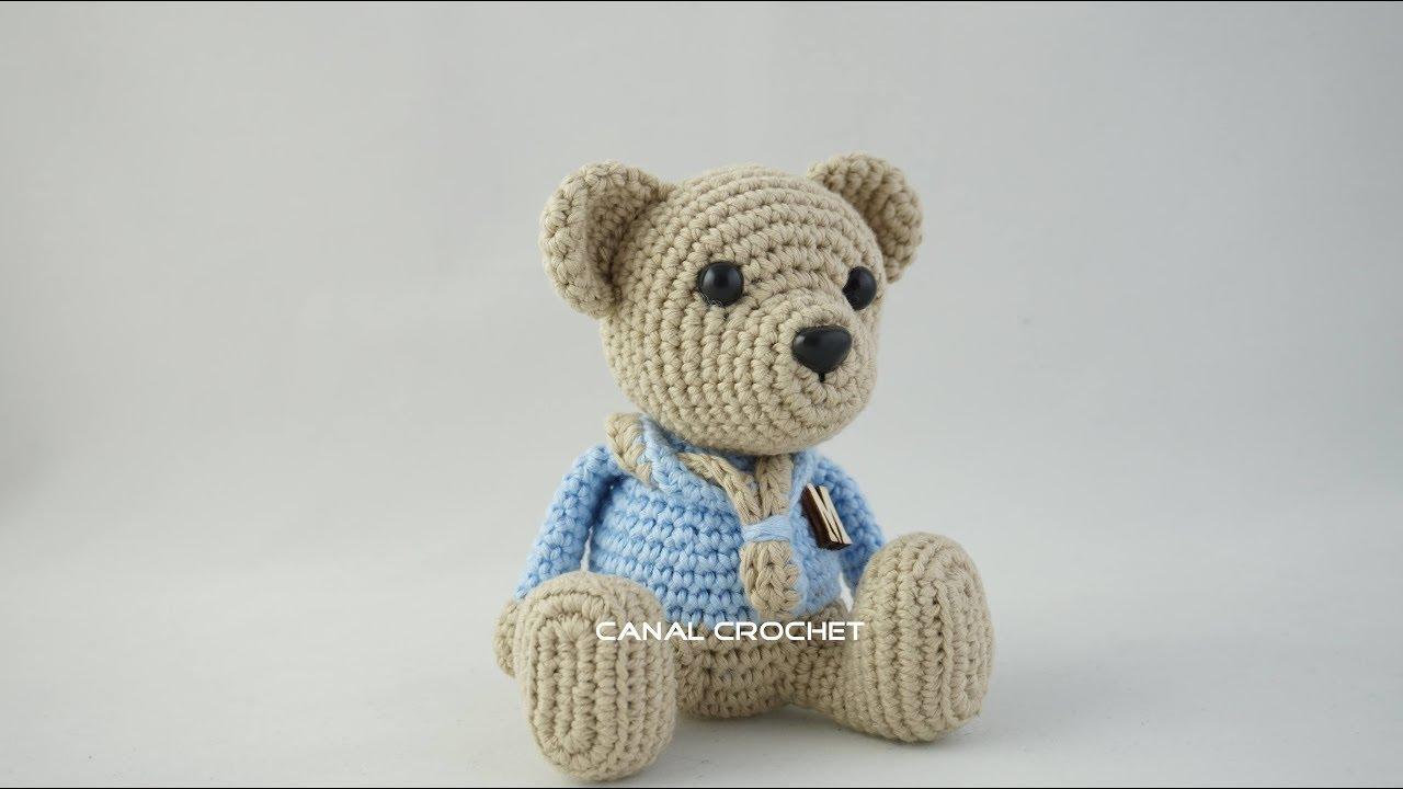 Urso Amigurumi Gigante com o Fio Lollipull | Urso de crochê ... | 720x1280