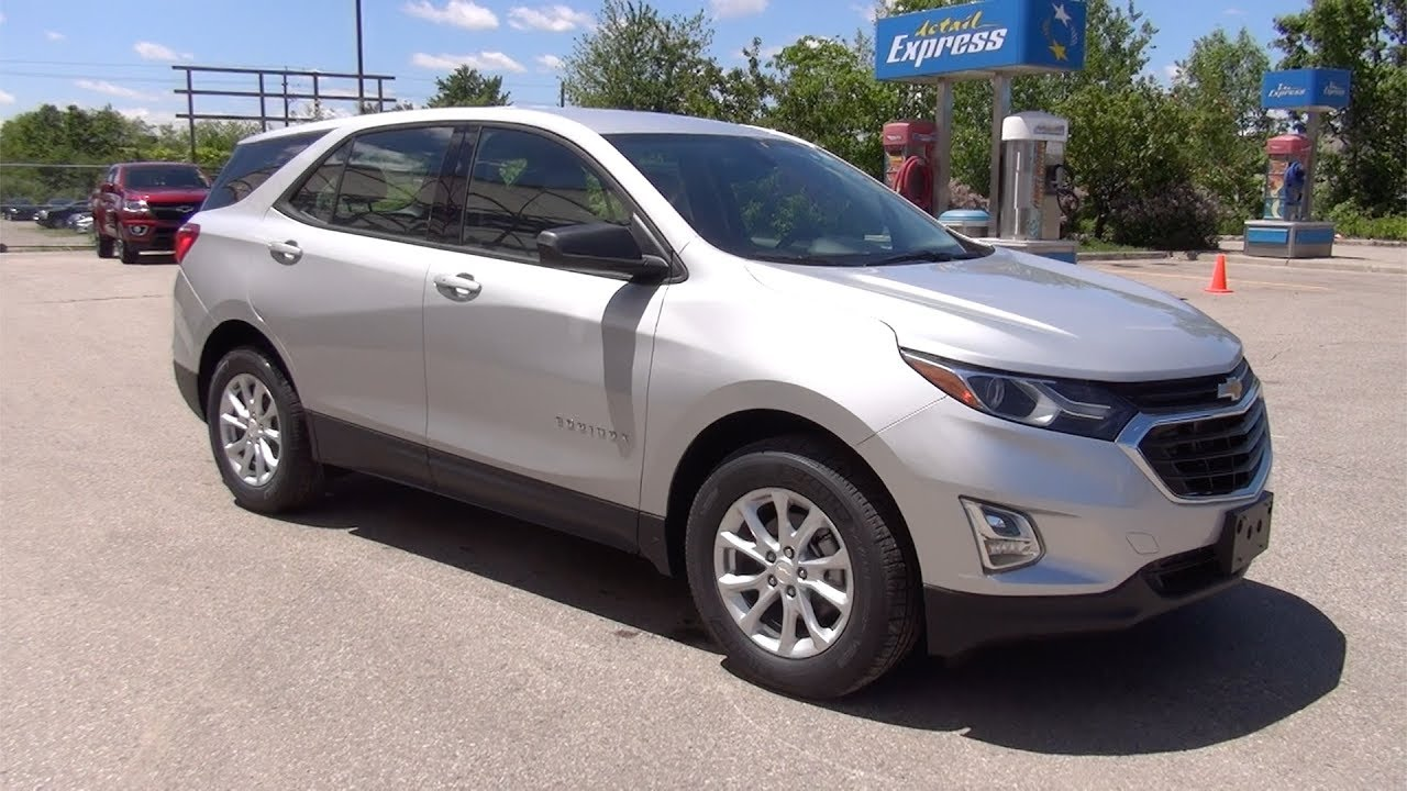 2018 Chevrolet Equinox Ls Silver Ice Metallic