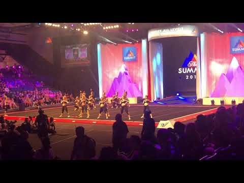Team Illinois Cheer- Black Sparkle Summit 2018