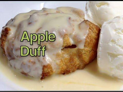 Apple Duff Irish Dessert Video Recipe cheekyricho