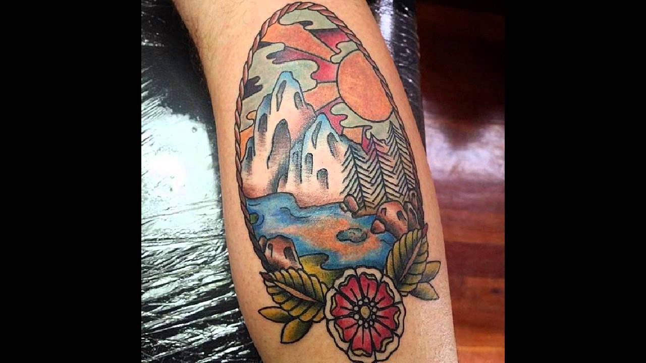 60 Amazing 3d Tattoo Designs For Men Tattoo Journal - 60 spectacular mountain tattoo designs and ideas for all ages youtube