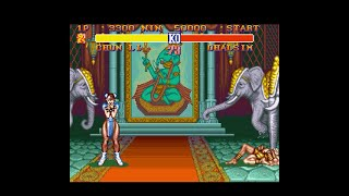 Street Fighter 2 Level 7 No Rounds Lost -Chun Li