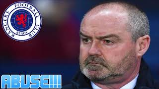 RANGERS FANS ATTACK STEVE CLARKE! SECTARIANISM IN SCOTTISH FOOTBALL!