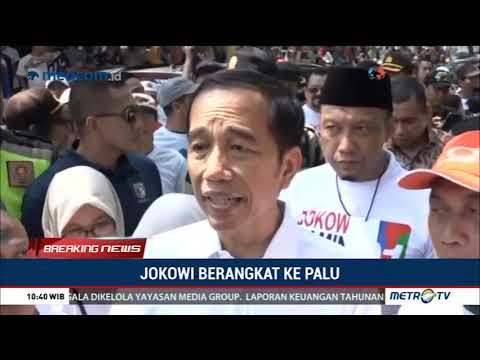 Jokowi Berangkat Ke Palu