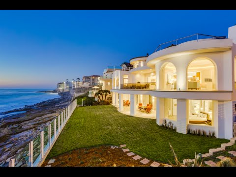 Oceanfront Estate  La Jolla CA 92037  Amber Anderson