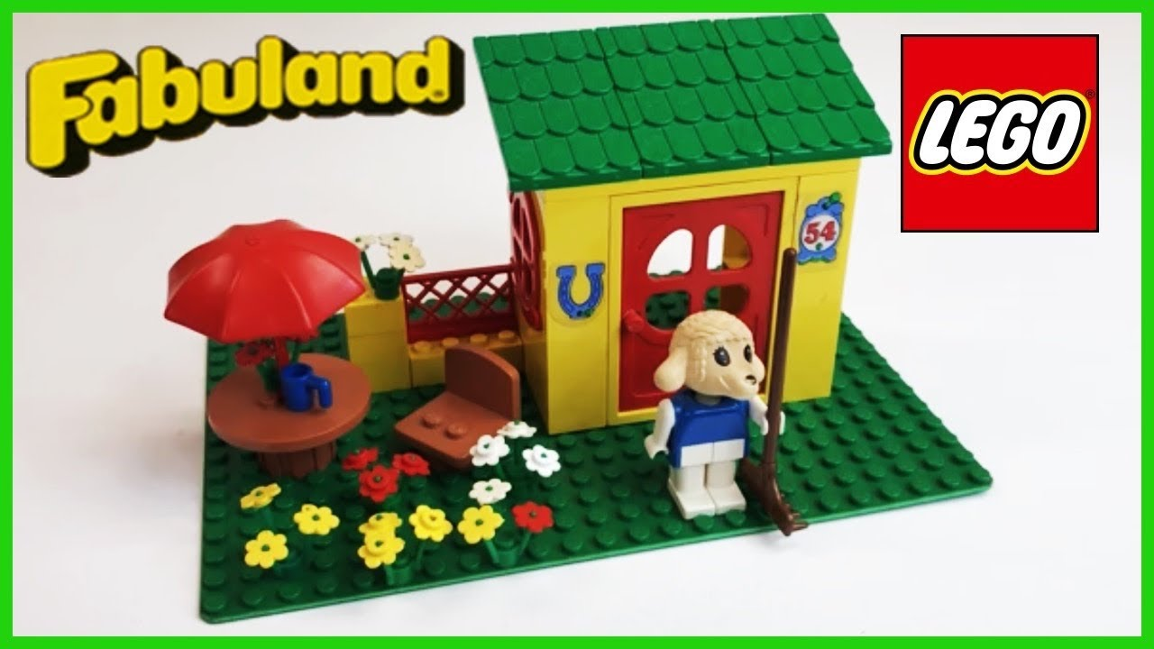 Lego Fabuland 3654 Lisa Lambs House Or Country Cottage From 1982